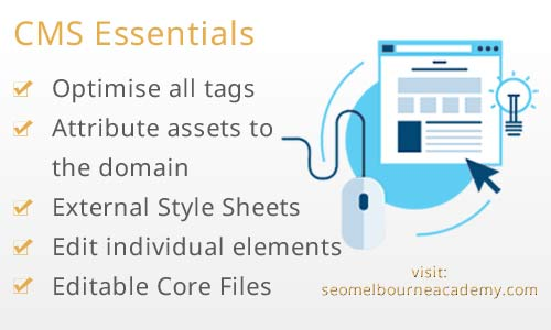 attributes of content management systems which perform well within organic SEO