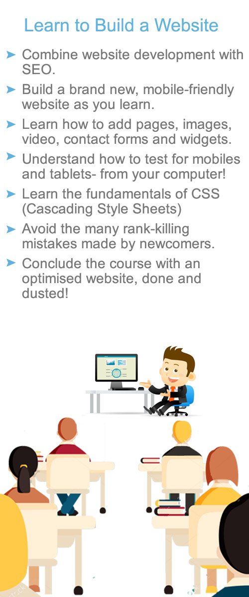 training course for website development