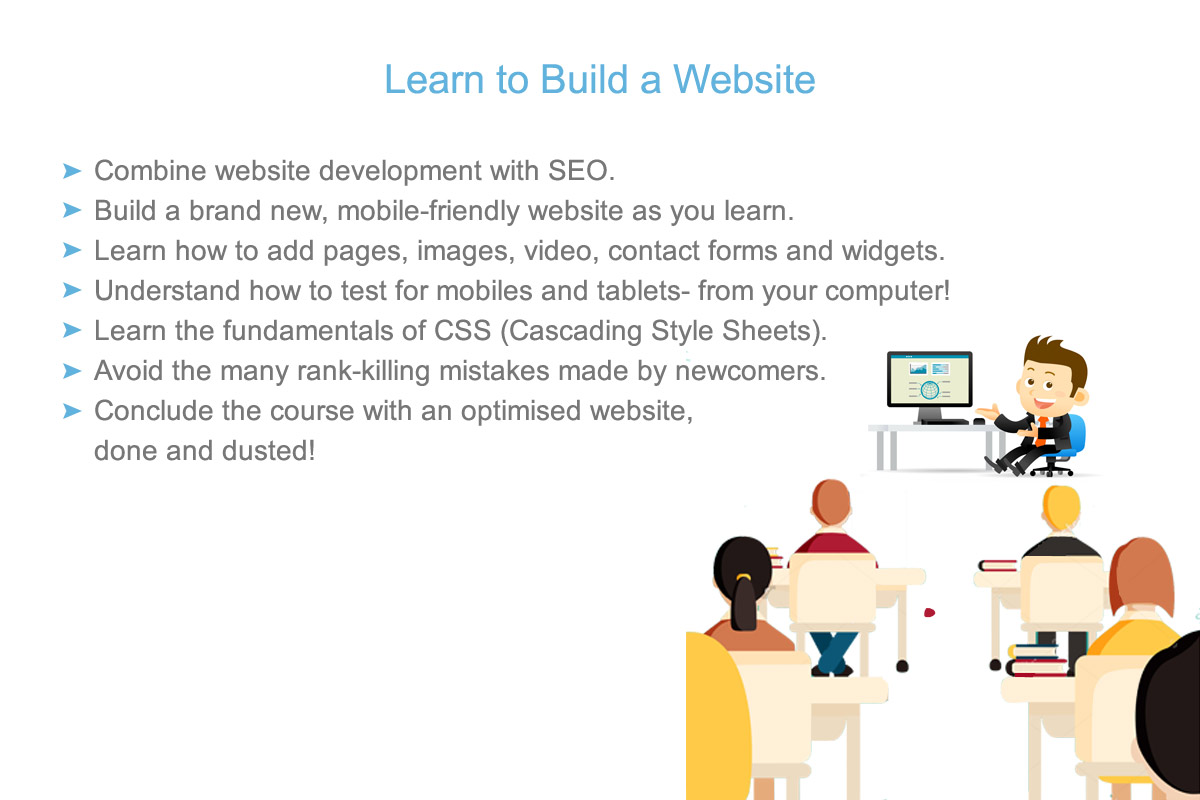 learn to make a website, in Melbourne