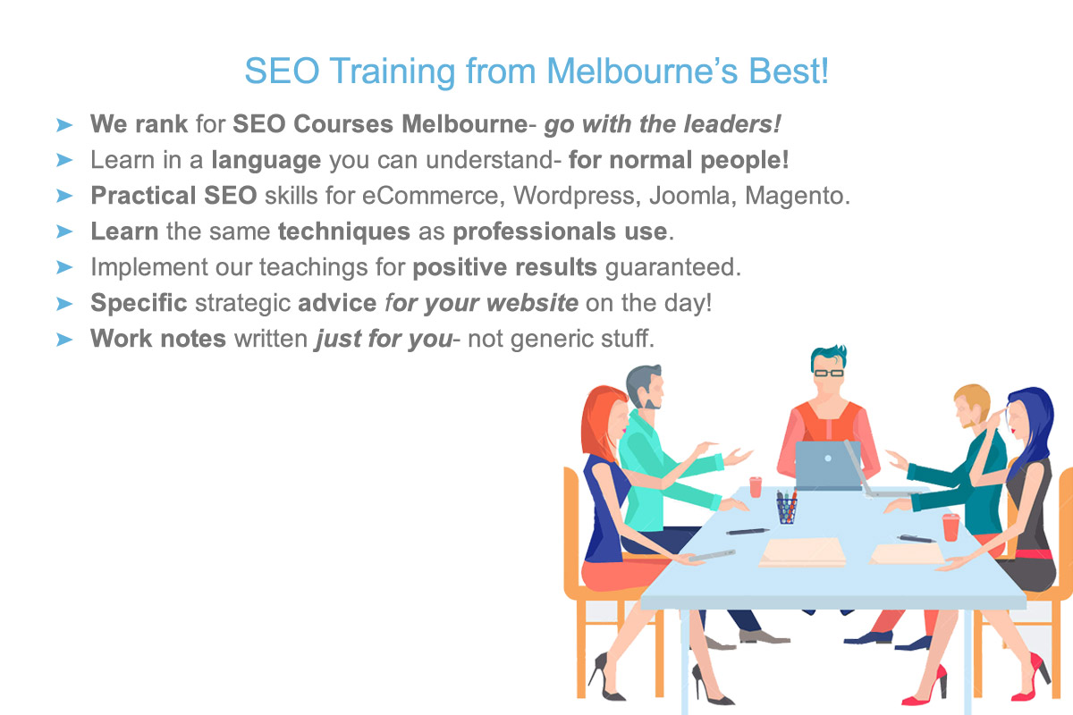 attend the best SEO class in Melbourne- inquire today and learn professional techniques