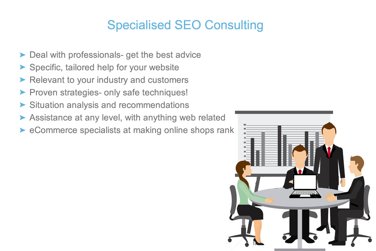 professional recommendations from an SEO specialist