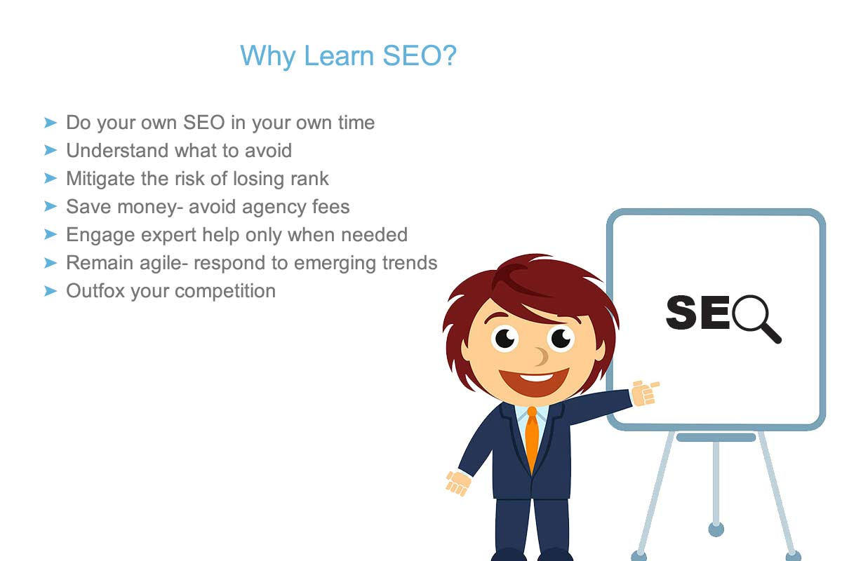 learning SEO has many advantages for students, this infographic explains them
