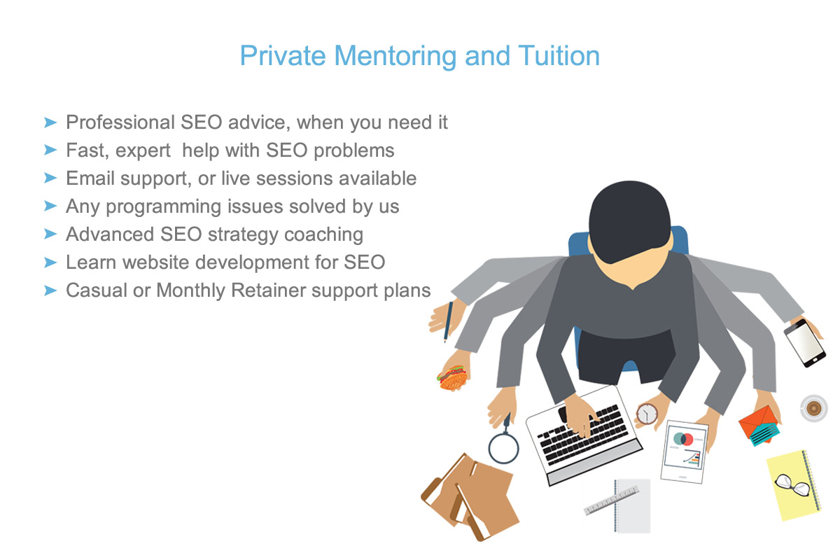 search engine optimisation mentoring in Melbourne