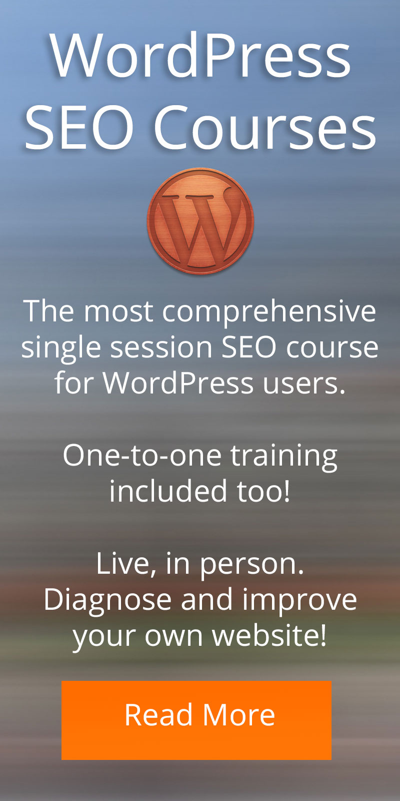learn more about courses for WordPress Search Engine Optimisation